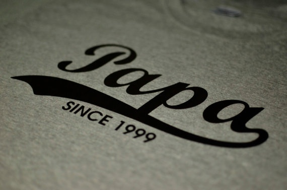 Papa shirt funny daddy tshirt father's day gift awesome dad new dad tshirt papa since