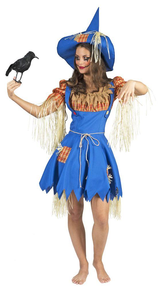 Dorothy ist auf der Suche nach Ihrem Löwen, dem Blechmann und der Vogelscheuche! Die Vogelscheuche hat sie aber hier endlich gefunden! Mit diesem tollen, detailreichen Vogelscheuche Henriette Kostüm für Damen verwandeln Sie sich ganz...