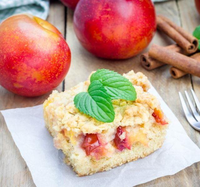 Recept Bezlepkový koláč s ovocem