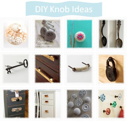 Diy Ideas For Knobs D I Y Hardware Amp Finishes