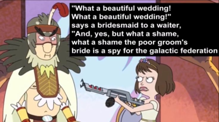 I CHIME IN WITH A HAVEN'T YOU PPL EVER HEARD OF, FUCKING LOYA*burp*TY, NO!! IT'S MUCH BETTER FACE THESE KINDS OF THINGS, WITH A FOURTEEN YEAR OLD NAMED MORTY!!