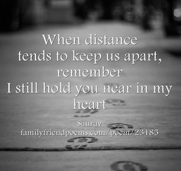 Long distance love poems on Pinterest Distance love quotes, Long ...