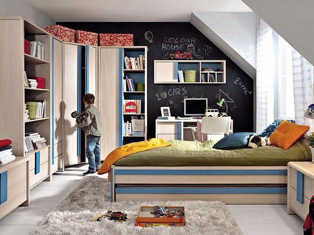 Комплект мебели Капс. Детский и молодежный комплект, завораживающий теплотой и уютом. Дополнительные яркие цвета декоративных рифленых ручек и вставок делают систему контрастной и насыщенной. Доставка во все регио