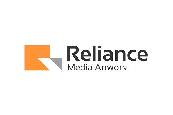 Reliance Media Artwork Logo Templates a unique stylish letter R word treatment for your amazing company, suitable for logo abbreviation na by Toko Pak Sabar