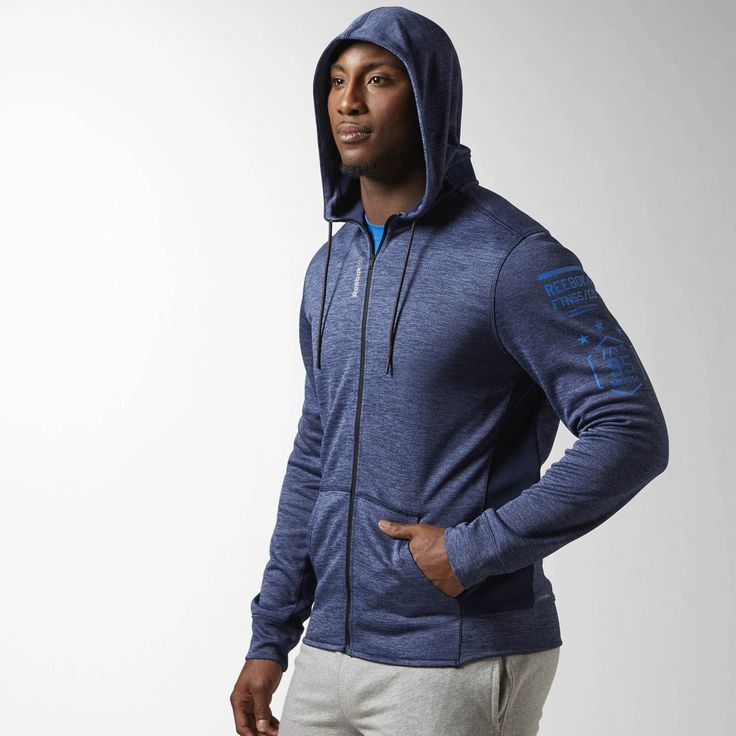 Tip the scale toward improved performance in a hoodie that combines functionality, comfort, and just-right warmth. Stretch where you want it and breathability where you need it mean you're ready to conquer workouts or hangouts with equal ease.