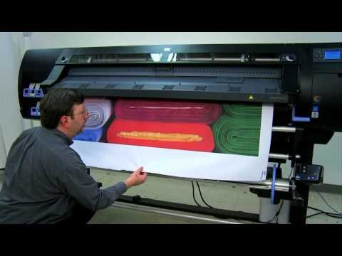 HP Latex Printing Technology: proven technology, unfair advantage - YouTube