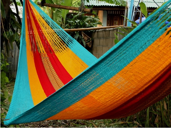 Happy Hammocking ! Every Thailand Group member gets one of these beauties when they sign up for a Free & Easy trip #hammock #swinging #freestuff