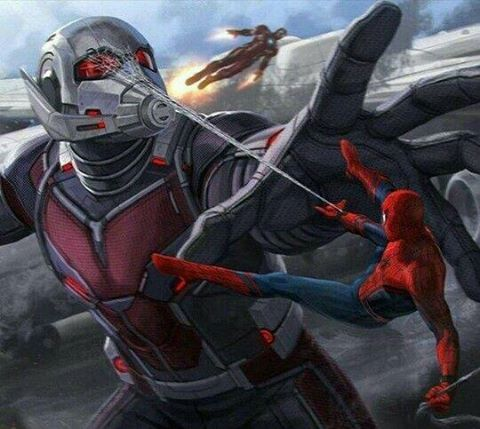 Spder-Man vs Antman.
