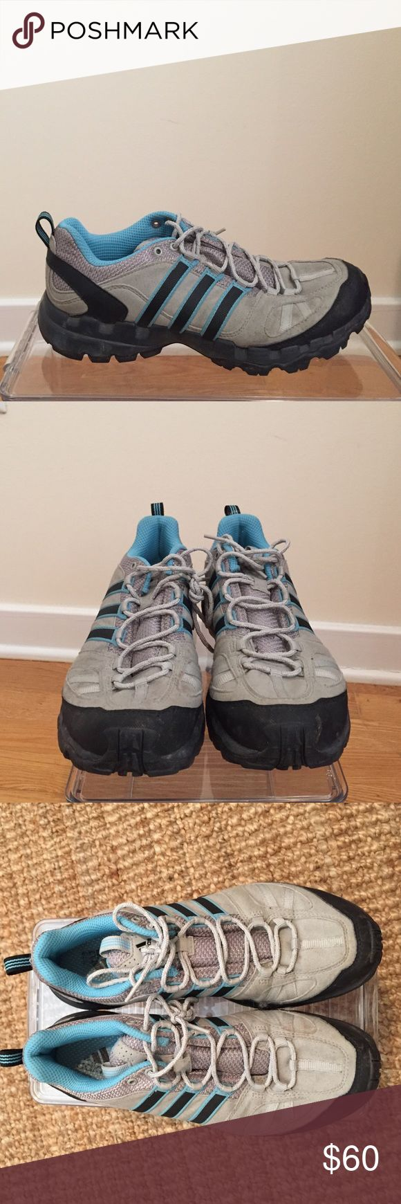 Adidas trail running / hiking  shoes Adidas women's train running shoe (also verge to for hiking). These are tough, light and stylish!! Worn twice (very good condition). Adidas Shoes Athletic Shoes