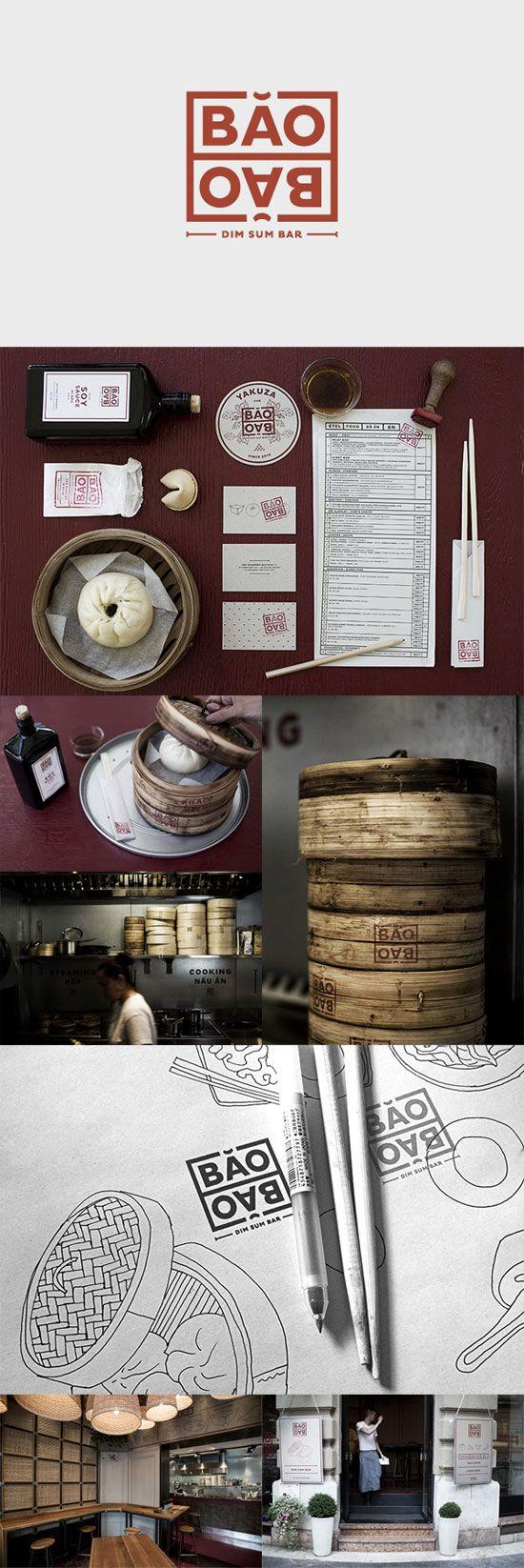 55 Brand Identity Design Examples for Restaurant | iBrandStudio