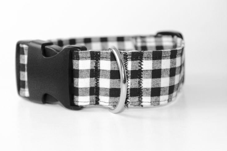 Original Plaid Dog Collar