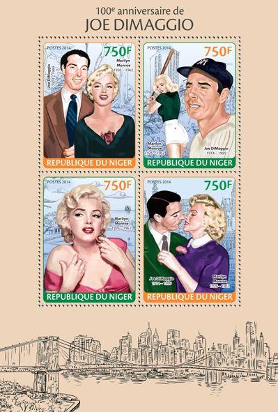 NIG 14101 aJoe DiMaggio (Marilyn Monroe)