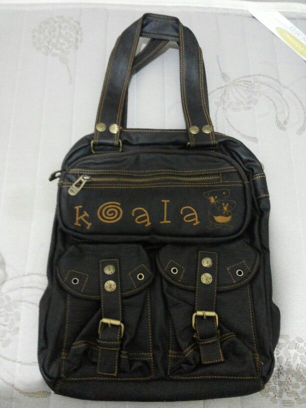 Brown Leather Bag from Koala