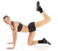 Butt Toning Exercises  Do 30 seconds each.  Rest for 1 minutes between each set….