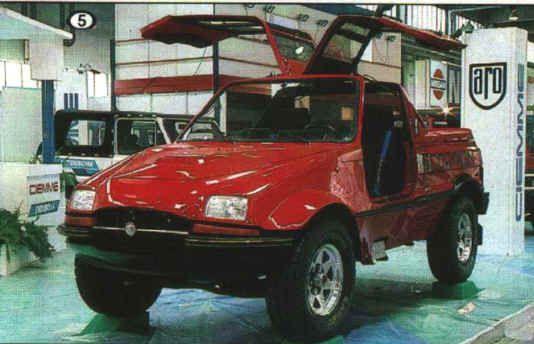1980 ARO 10 Skorpion