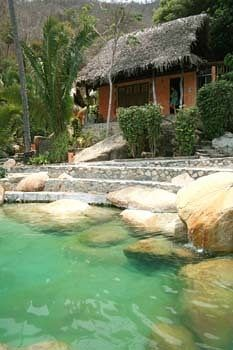 Hotel Lagunita - Yelapa, Mexico www.puertovallarta.net #yelapa #vallarta #mexico