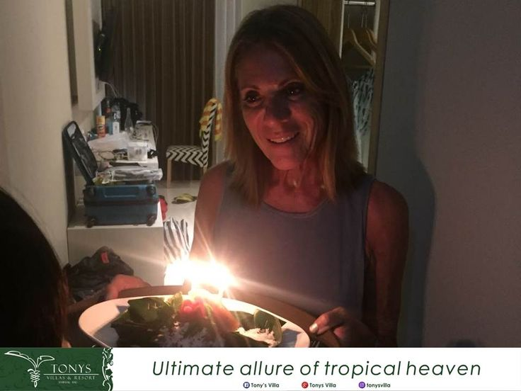Happy birthday Mrs. Joane Watson's we wish you all the best and thank you for choosing Tonys Villas & Resort Seminyak Bali for your stay. It's our pleasure to deliver you a surprise on your special day. . . . #Bali #Seminyak #vacation #holiday #wonderfulplaces #honeymoon #birthday #surprise #tonysvilla #balimagic #photooftheday #staydifferent #letsgosomewhere #villainseminyak #holiday #surprise #birthday #smallparty www.balitonys.com