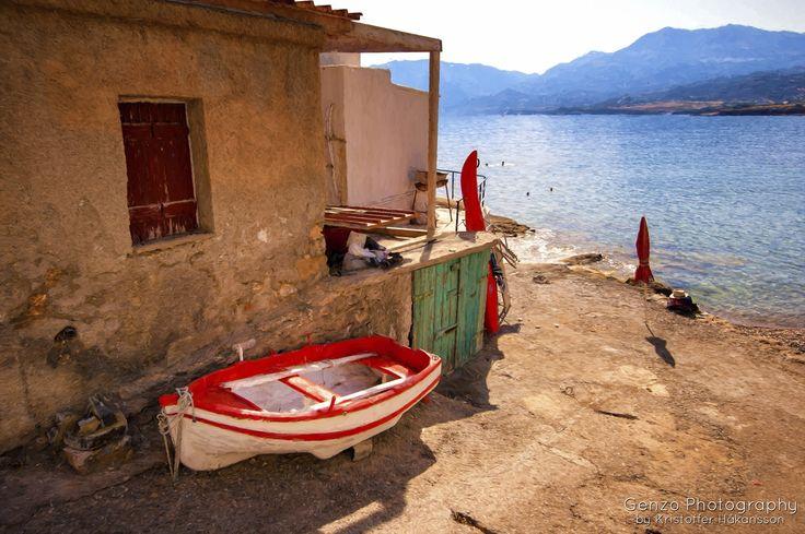 Fishing village on Crete by Kristoffer Håkansson - Photo 95967703 - 500px