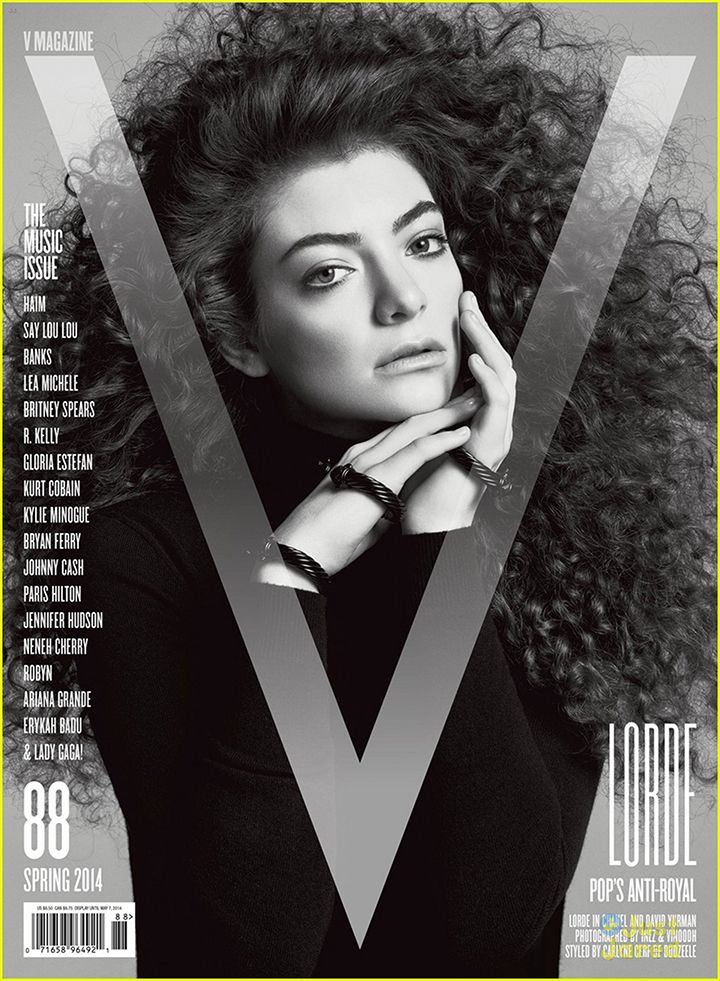 You Have to See Lorde's Hair on the Cover of V Magazine