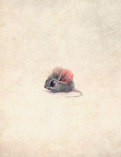 Mouse Art Print || Nici Maruri Ploeger