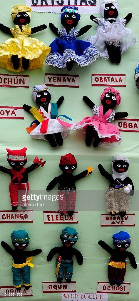 Cuba Havana (Habana) Havana (Habana) - voodoo puppets of Santeria religion