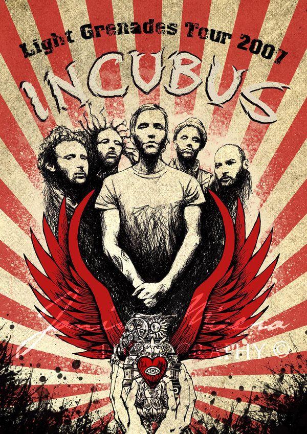Incubus Poster | Designer: Catliv