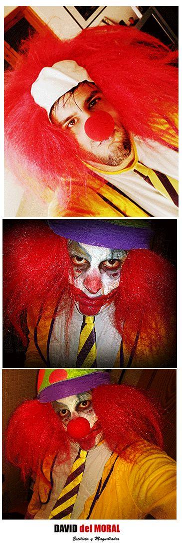 #maquillajehalloween #makeuphalloween #payasodiabolico #payaso #diabolico #men #maquillaje #makeup #halloween