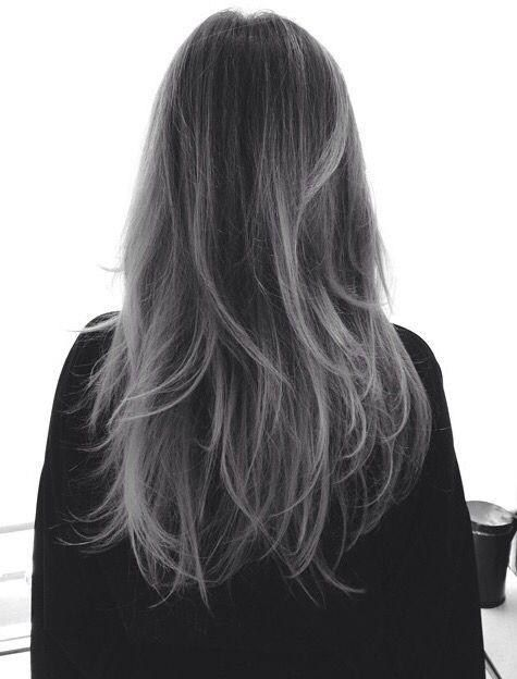 Image result for Flamboyage grey | hair | Pinterest – Damen Haare
