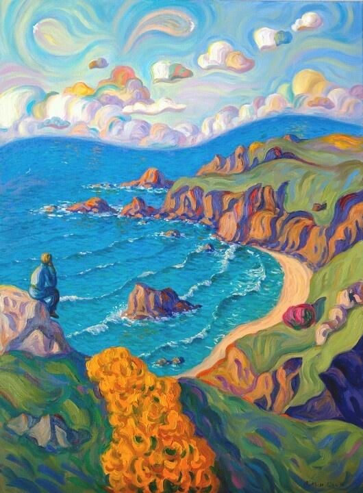 My favourite artist, Arthur Orum of St Ives