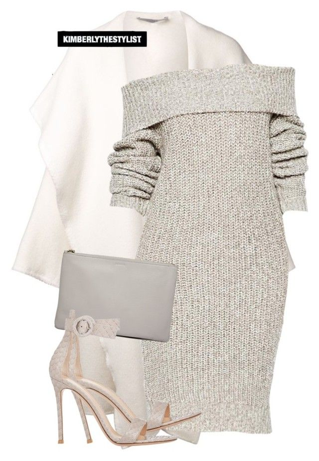"""Untitled #2250"" by whokd ❤ liked on Polyvore featuring DuÅ¡an, Jil Sander and Gianvito Rossi"