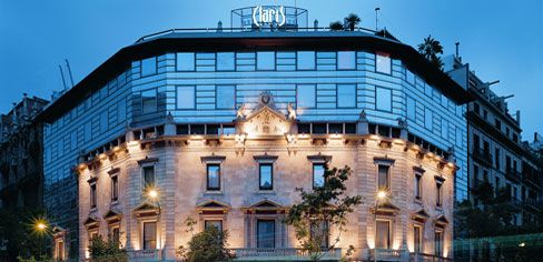 Hotel Claris in Barcelona, Spain - great city!