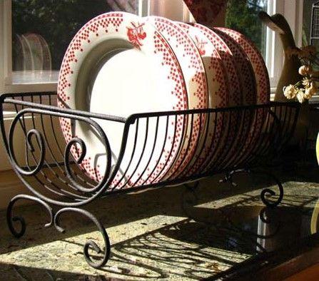 vintage dish rack from Rustic.Meets.Vintage