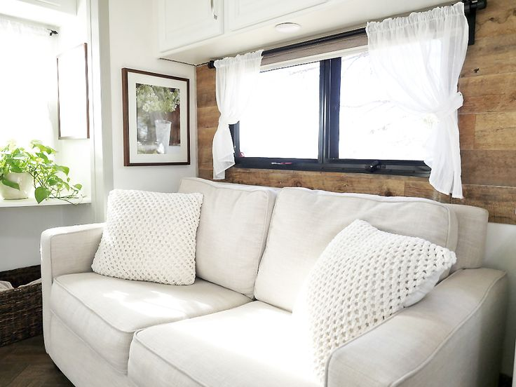 RV Renovation Seating Area