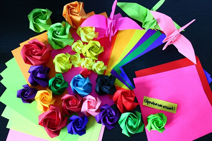 paper rose #moodbooster