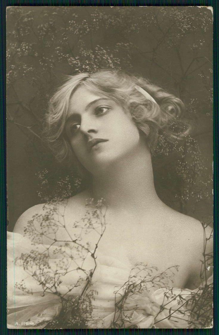 Ivy Lillian Close - Original Vintage 1910s Photo Postcard An   eBay