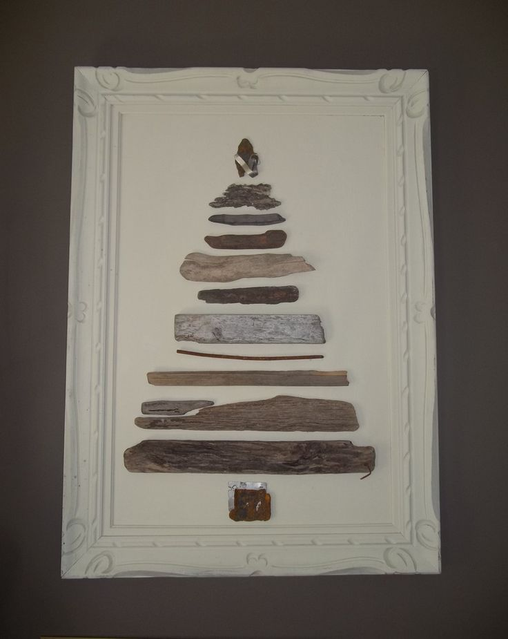 "Almost 3 feet wide and 4 feet tall, the ""Aristotle Tree"" needs a large wall. Both canvas and frame are painted a flat, creamy white to avoid competing with the varied colors and textures of metal and"