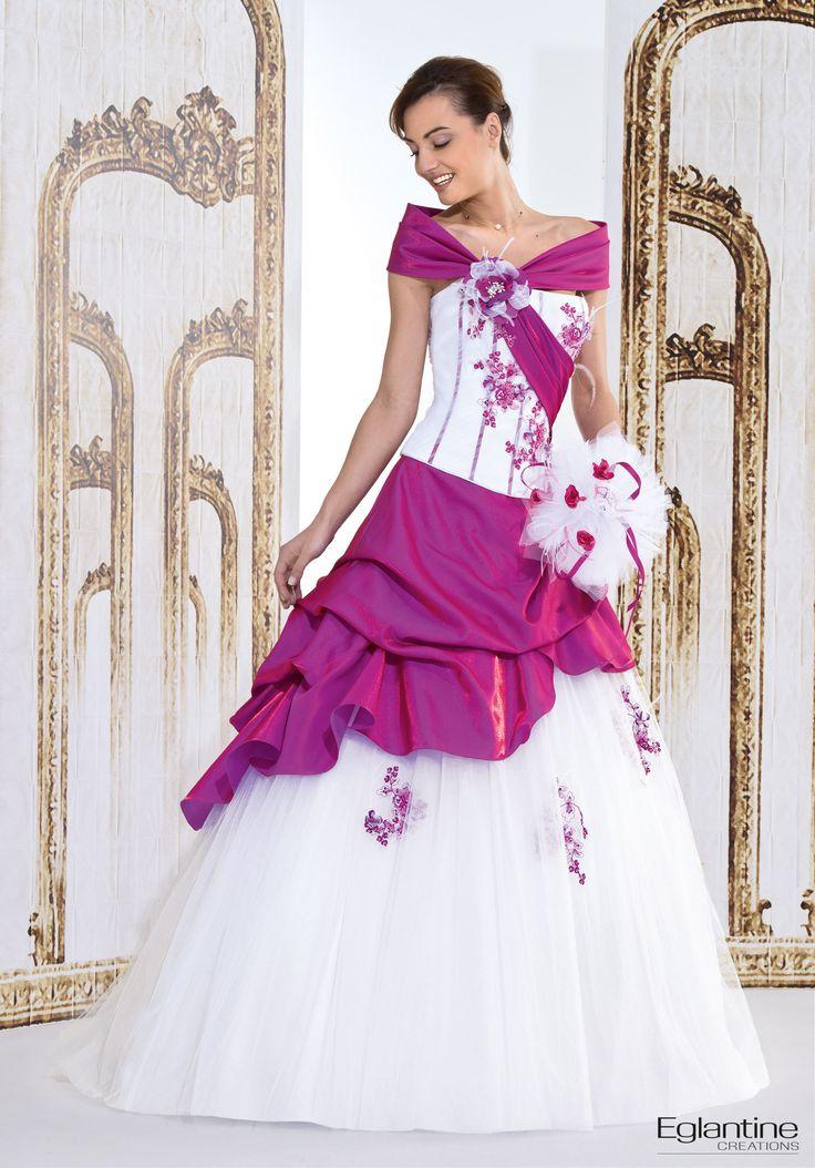 391 best images about robes de mariee de couleur on