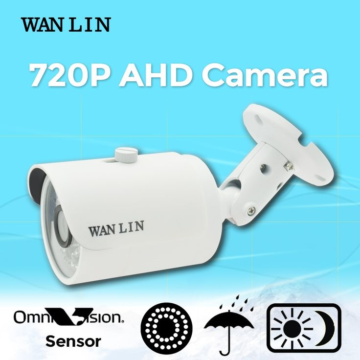 (31.58$)  Watch more here  - WAN LIN 1.0MP 720P AHD CCTV Camera Video Surveillance Camera 36pcs IR LED OV9732 Sensor Outdoor Waterproof Bullet Camera