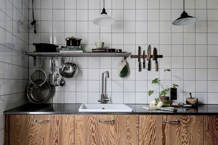 A Swedish home with striking contrasts