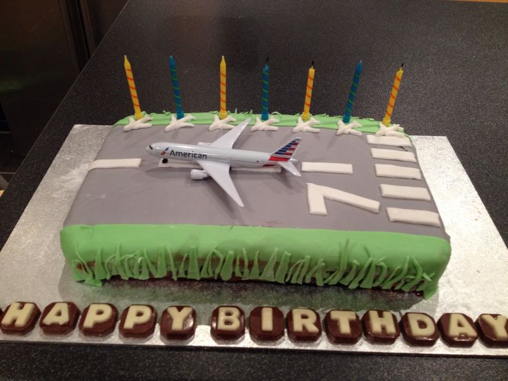 A runway cake for my plane mad son!