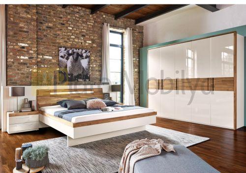 Yatak odanızda modern bir hava estirmek ister misiniz? Ahşap dokusu ile beyazın eşsiz kontrastı size modern ve keyifli bir ortam sunuyor. Uzun yıllar sorunsuzca kullanacağınız, şık tasarımlı ve dayanıklı yatak odaları Plato'da. #yatakodası #mobilya #dekorasyon #dekorasyonfikirleri