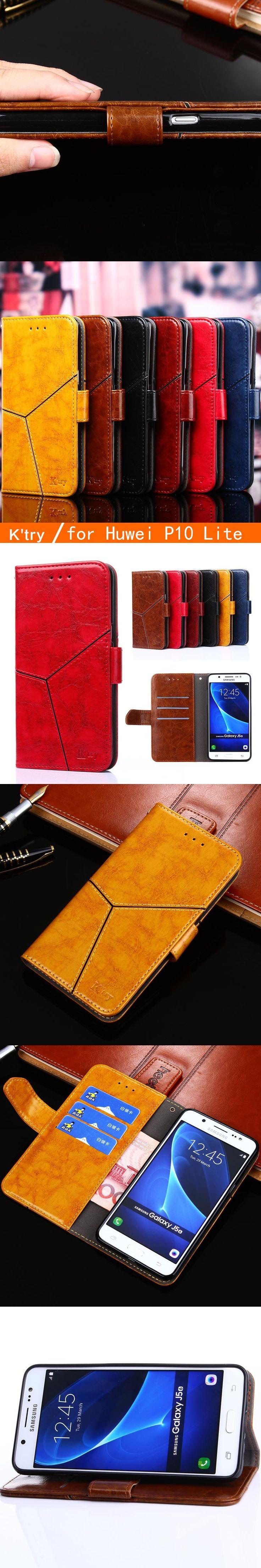 "Huawei P10 Lite Case 2017 Luxury Flip Leather Case For Huawei P10 Lite Wallet Book Cover Hawei P10 Lite P10Lite 5.2"" Phone Cases"