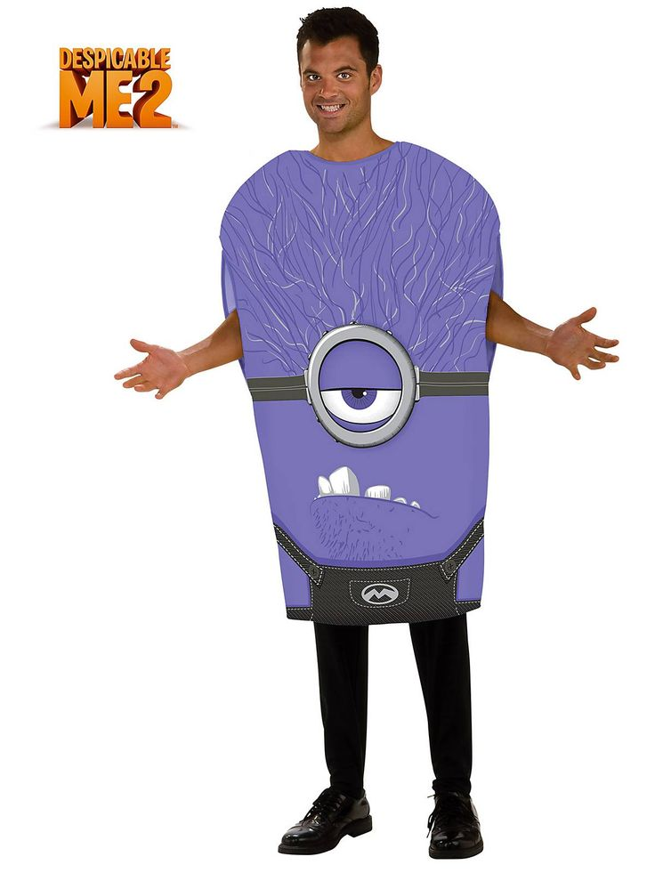 Men's Despicable Me Evil Minion Costume | Cheap TV and Movie Halloween for Kids And Adults