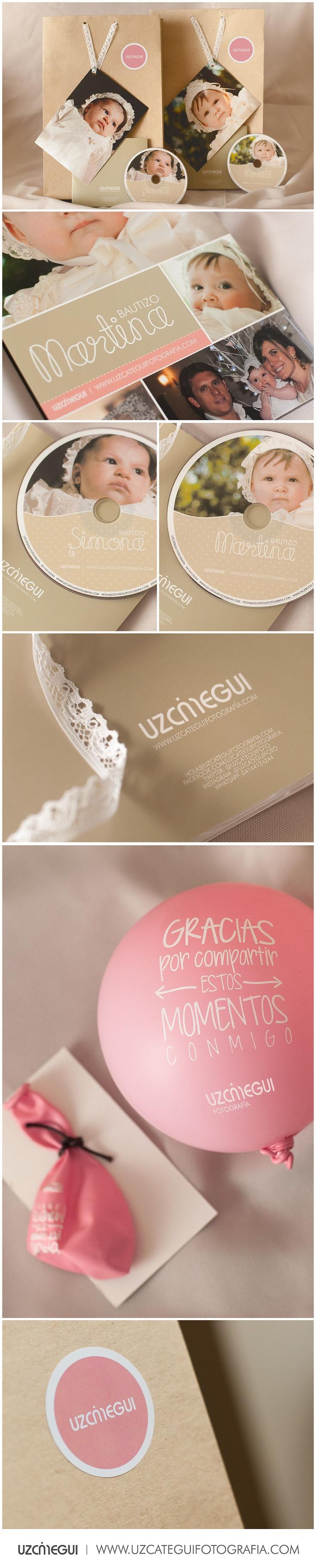Empaque para bautizo Simona y su primita Martina @uzcateguifoto #branding…