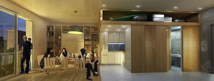 늘어나는 싱글족...맨해튼에 초미니 아파트 등장(사진)