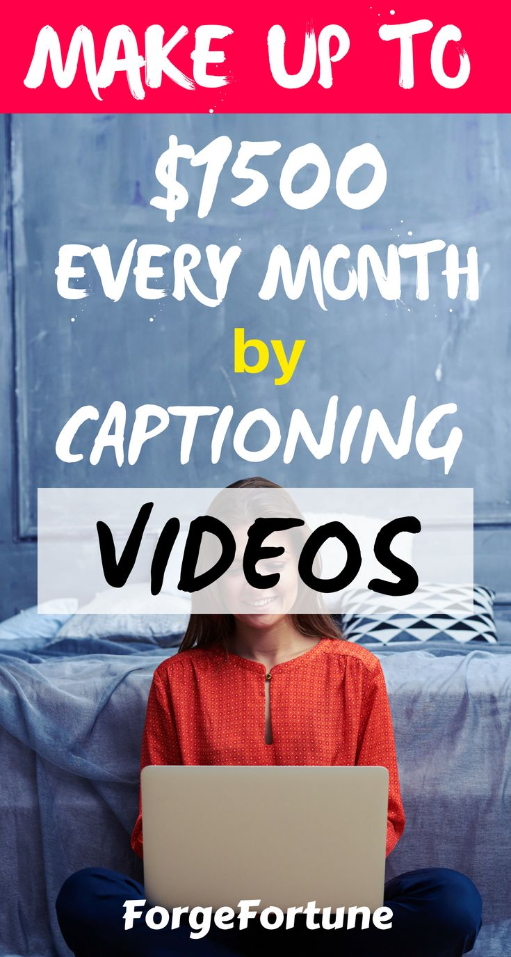 How to Make Money as a Captioner by working from home – Make Money with Side Hustles