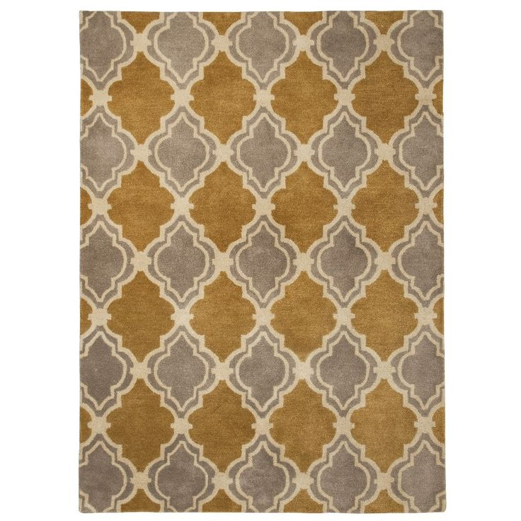 Threshold traditional fretwork wool area rug casa de for Traditional kitchen rugs