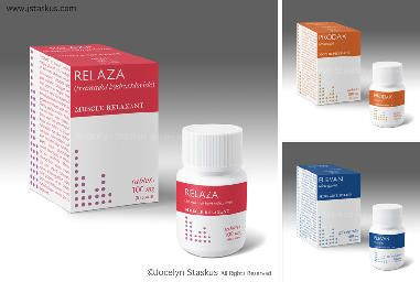 Brand new pharma package design.