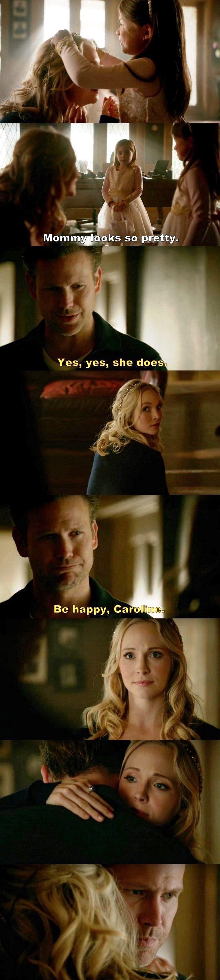 The Vampire Diaries TVD S08E15 - Caroline & Ric