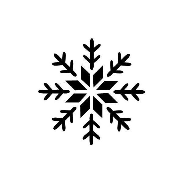 Snowflake Printable Stencils to use for decorating cake | Disney Frozen Birthday theme.